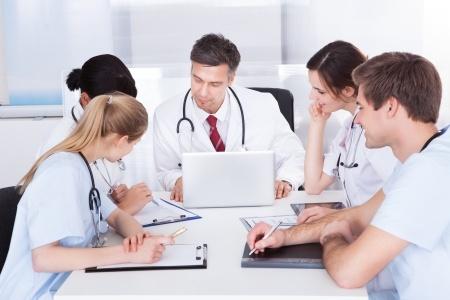 Réunion de docteurs