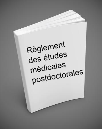 Guide règlement des études médicales postdoctorales