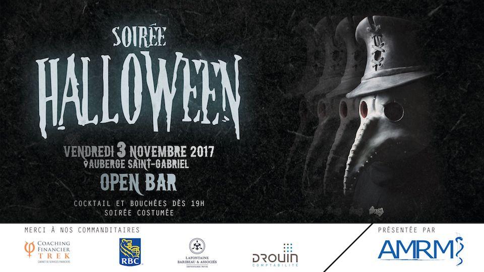 Soirée de l'Halloween de l'AMRM