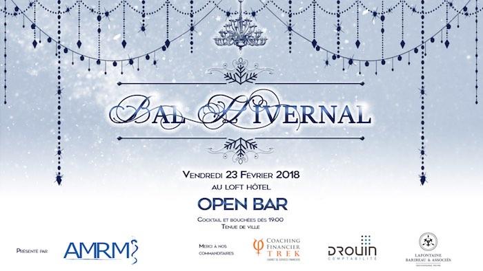 Bal Hivernal le vendredi 23février 2018