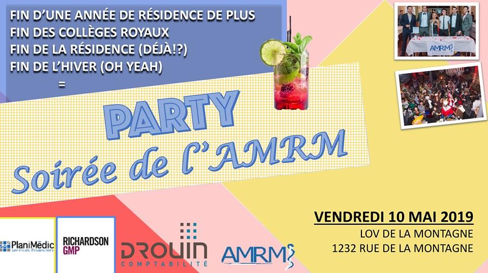 Gala AMRM – 10 Mai 2019